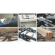 Walter TTPP450-550 körfűrészes rönkoptimalizáló, rönkhasító fűrész. rönkfeldolgozás, fűrészárú, raklapelem, prizma, deszka, padló, kalapdeszka, rönkkocsi, függőleges szalagfűrész