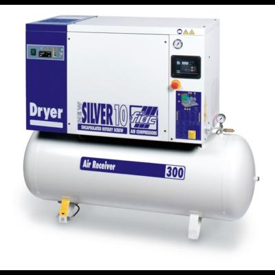 NEW SILVER D 20 / 500 - 10 bár csavarkompresszor