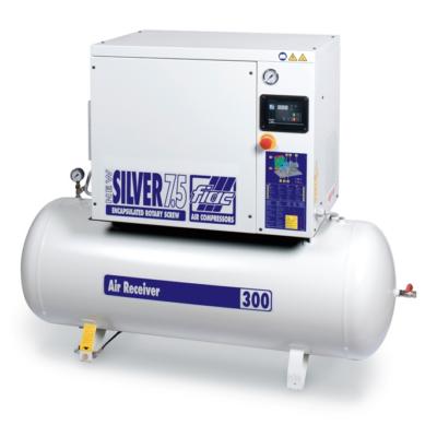 NEW SILVER 7,5 / 300 - 10 bár csavarkompresszor