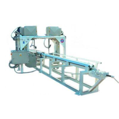 Lignuma MM-700/2 páros szélező fűrész – szalagfűrésszel