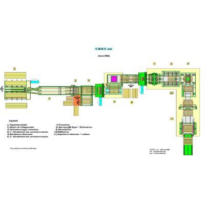 OMEV 300-500 db/órás raklaszegező technológia, raklapszegező hidraulikus, hosszvágó, keresztvágó, daraboló, pneumatikus körfűrész, optimalizáló, hibakiejtő, raklapelem, egyutas raklap, EU raklap, raklapszegezés