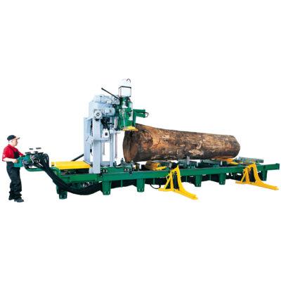 Pilous CTR 1300 H vízszintes szalagfűrész, rönkhasító fűrész
