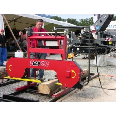 Strojcad Scad 700 vízszintes szalagfűrész