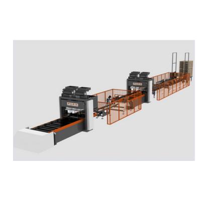 Formmaksan PCM E 120  CC raklapszegező sor Formmaksan raklapszegező hidraulikus, hosszvágó, keresztvágó, daraboló, pneumatikus körfűrész, optimalizáló, hibakiejtő, raklapelem, egyutas raklap, EU raklap, raklapszegezés