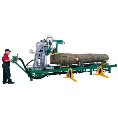 Pilous CTR 800 H vízszintes szalagfűrész, rönkhasító fűrész