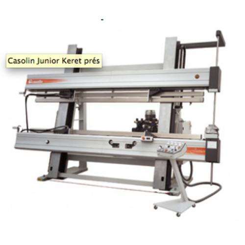 Casolin Junior keretprés, ajtó gyártás, hőszigetelt ablak