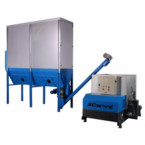 FJ 18 -2SO modulos filteres elszívó szállítószalag rendszerrel külső telepítésre