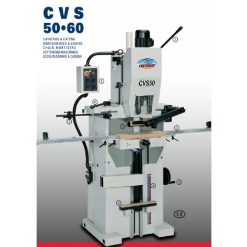 Centauro CVS 50-60 láncmaró, Zsalugátermarások, zárhely marás, kilincshely furat, cilinder kialakítás