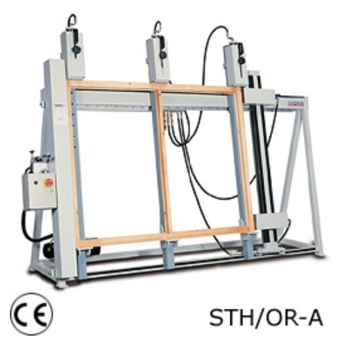 Stromab STH-OR/A keretprés, ajtó gyártás, hőszigetelt ablak