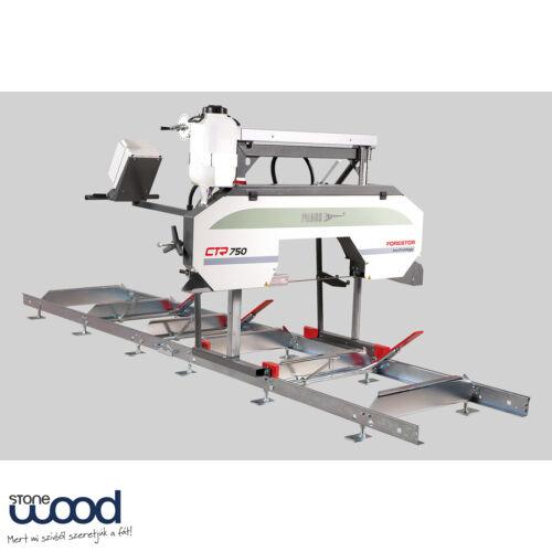 Pilous CTR 750 vízszintes szalagfűrész